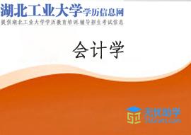 湖北工业大学成教专科【会计学】