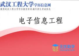 武汉工程大学全日制自考本科【电子信息工程】头像