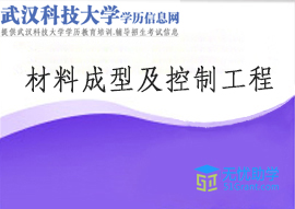 武汉科技大学成教专升本【材料成型及控制工程】头像