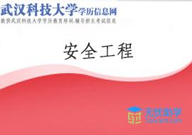 武汉科技大学成教专升本【安全工程】头像