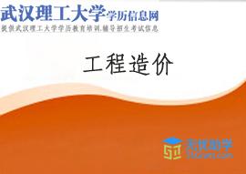 武汉理工大学成人高考高升专【工程造价】头像