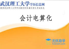 武汉理工大学成人高考高升专【会计电算化】头像